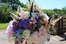 Wedding with British Flowers