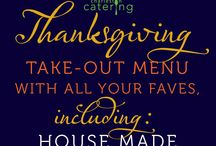THANKSGIVING / Need help with Thanksgiving menu planning? We hope to inspire!