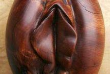 Obras de arte madeira
