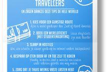 Infographics | Travel / Bekijk leuke infographics gerelateerd aan reizen!