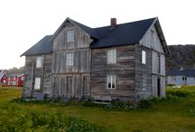 Storhurraen / Storhurraen is an fishermans guesthouse in Hamningberg, Varanger, Norway. We belive the building was built around 1870. My dream for the building is to put it back in action and original use as guesthouse, workshop and a place to store food and material.