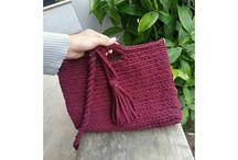 crochet sling bags