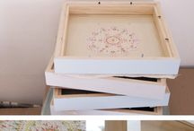 Doily stitching in abox