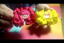 hermosos moños para niñas