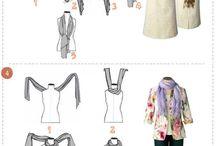 formas de usar pañoletas