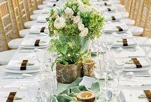 Table settings/parties etc