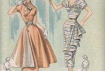 Moda vintage señora .