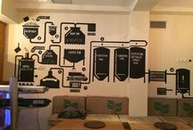 Beer Bar / Beer bar rustic style warm and friendly :)