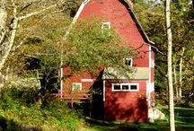Barns & Rustic outdoors / There's just something about the countryside and the charm of an old barn.  Such a peaceful and serene setting.   / by Kathy Tutor