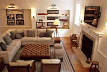 Home - Family Room Ideas / by Sara Sheets