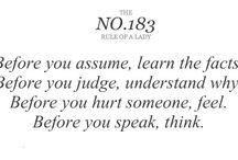 words of wisdom / by Katie Robinson