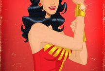 Wonder Woman / by Ashley Clayson