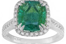 May Birthstone - Emerald / Celebrate and embrace the May babies with emerald gemstones, jewelry and more!