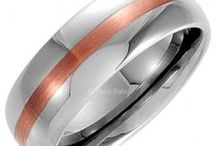 Tungsten, Stainless Steel and Titanium Wedding Bands / Fin Polished Great Designs of Sturdy, Beautiful and Fine Cut Wedding Bands in New Attractive Metals of Today. Browse the collection, compare our prices and pick a ring or 2 to last a lifetime.