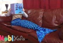 deniz kızı battaniye