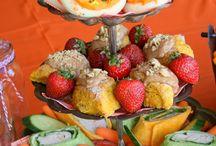 Creepy Autumn Tea Party! / All things autumn and Halloween!