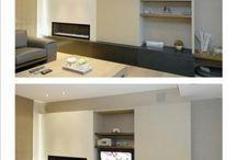 zwart/wit/hout interieur