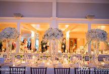 Nantucket Yacht Club Weddings / Weddings at the Nantucket Yacht Club designed by Soirée Floral. www.soireefloral.com