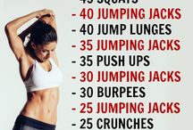 Workouts / Exercise and Fitness ideas
