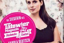 WINNER - TM-Nachwuchs-Contest 2014 / Carola Deutsch ist die Siegerin des Tätowier Magazin Nachwuchs Contests 2014!! In diesem Jahr konnte der internationale Preis mit nach Österreich genommen werden!