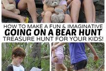 vamos a cazar un oso
