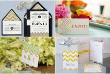 Wedding Stationery / Invite inspiration!