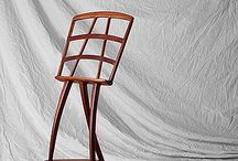 MUSIC STAND in wood