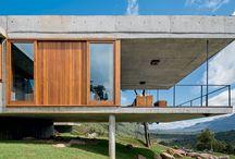 vidro e concreto