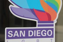 Artist Exhibitions @ San Diego Pride / The Studio Door is managing the artist exhibitions at Pride Offices in San Diego in partnership with Art of Pride