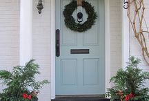 Front Porch/Doors / by Tracy: The Crafty PolkaDot