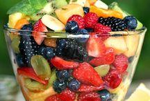 Gezond & lekker / Gezonde recepten, fruit, bijgerechten, lekkernijen