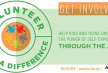 Volunteer with Arts-Kids / Volunteer with Arts-Kids