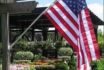 Walpole Outdoors Flagpoles & Flags / There is no more stirring display of national pride than a handsome flagpole sporting the Stars and Stripes fluttering in the breeze. Walpole offers both residential and commercial fiberglass flagpoles complete with gold aluminum ball and pulley assembly. We also offer wall mount poles. Each flagpole comes with appropriate hardware, ready for installation.