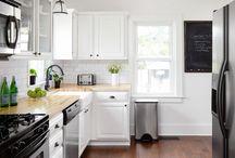 kitchen - range and sink on same side