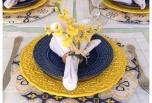 decorazioni tavolo 8 marzo