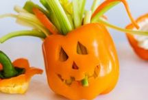 Halloween party for school lunch