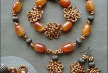 Uzlování / inspirace i návody na drhané šperky a jiné uzlování