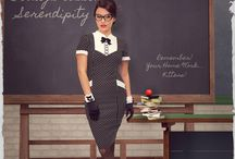 Serendipity / This playful yet sophisticated collection will have all eyes on you...Are you ready to become 'Geek-Chic' with Serendipity?!