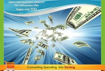 My Shopping Empire / Financial freedom by creating a #shoppingannuity by converting my everyday spending into earning. www.DonniseWebb.com