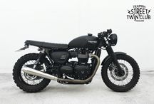 street twin cafe racer