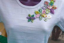 bordado roupas