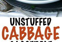 Lazy cabbage rolls