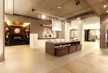 Keuken showroom gietvloer