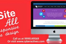 Responsive Website / Call at 9999149569 or visit us at www.cyberactives.com