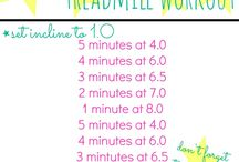 Treadmill Workouts / A collection of treadmill workouts including everything from intervals and sprints to incline workouts and walking workouts  / by Peanut Butter Fingers