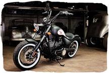 Tattoos and motorbikes