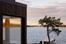 Modern summer cottage