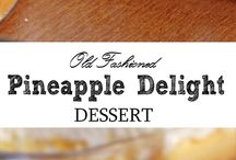• Food - DESSERTS • / Yummy sweet treats to spoil my husband with
