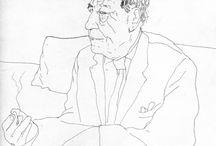 David Hockney - Desenho /Drawing