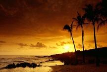 Sunset in Hawaii / by Hugo Talk